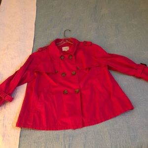 LOFT Jackets & Coats - Bright pink jacket